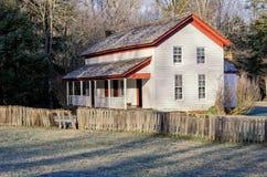Casa di Gregg Cable e gelo, Great Smoky Mountains Fotografie Stock Libere da Diritti