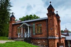 Casa di informazioni Museo di Werla finland Fotografie Stock Libere da Diritti