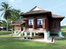 Casa di Kampung Fotografie Stock Libere da Diritti