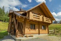 Casa di legno immagini stock