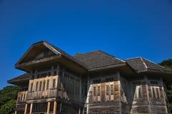 Casa di legno fotografie stock