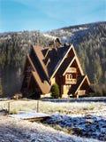 Casa di legno Immagine Stock Libera da Diritti