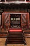 Casa di legno antica orientale Immagini Stock
