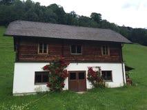 Casa di legno austriaca Immagini Stock Libere da Diritti
