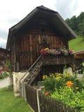 Casa di legno austriaca Fotografie Stock Libere da Diritti