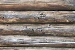 Casa di legno del modello dello sfondo naturale vecchia Struttura Immagini Stock