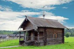 Casa di legno dell'annata fotografia stock libera da diritti