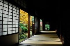Casa di legno della coltura di Japanse Fotografie Stock