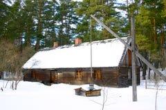 Casa di legno di eredità Fotografie Stock Libere da Diritti