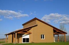 Casa di legno due Immagine Stock Libera da Diritti