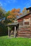 Casa di legno rurale Fotografia Stock Libera da Diritti