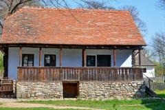 Casa di legno rurale immagini stock