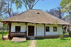 Casa di legno rurale immagine stock