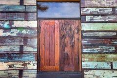 Casa di legno rustica Fotografie Stock Libere da Diritti