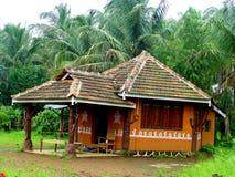 Casa di legno tradizionale Fotografia Stock Libera da Diritti