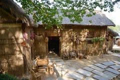 Casa di legno tradizionale Immagine Stock