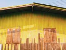 Casa di legno variopinta Immagine Stock