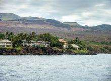 Casa di lungomare di Maui Fotografie Stock