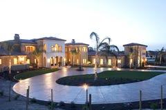 Casa di lusso Fotografia Stock