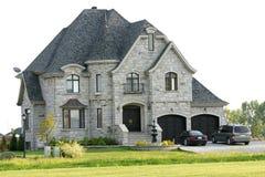 Casa di lusso Fotografie Stock