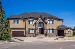 Casa di lusso, Calgary Fotografie Stock
