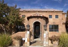 Casa di lusso del deserto Fotografie Stock