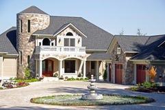 Casa di lusso dell'alta società Fotografie Stock