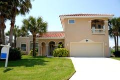 Casa di lusso della Florida Fotografia Stock Libera da Diritti