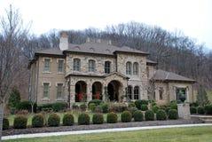 Casa di lusso di pietra 44 fotografia stock
