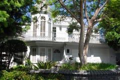 Casa di lusso esterna Immagine Stock Libera da Diritti
