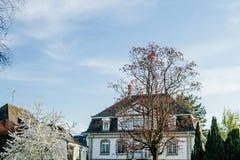 Casa di lusso in Francia Fotografia Stock Libera da Diritti