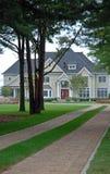 Casa di lusso isolata Fotografia Stock