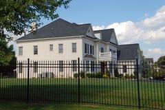 Casa di lusso sicura e sicura Immagini Stock
