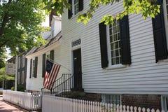 Casa di Mary Washington Immagini Stock