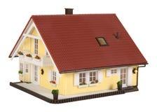 Casa di modello Fotografia Stock