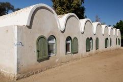 Casa di Nubian. L'Egitto Immagine Stock Libera da Diritti