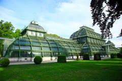 Casa di palma, Vienna, Austria Fotografie Stock Libere da Diritti