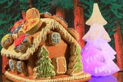 Casa di pan di zenzero Immagini Stock