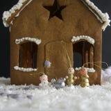Casa di pan di zenzero Fotografie Stock