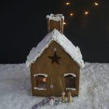 Casa di pan di zenzero Fotografia Stock Libera da Diritti