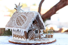 Casa di pan di zenzero Immagine Stock