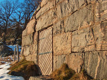 Casa di pietra immagini stock libere da diritti