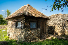 Casa di pietra Immagini Stock