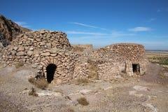 Casa di pietra in Andalusia Fotografia Stock