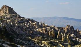 Casa di pietra in Cappadocia, Turchia fotografia stock libera da diritti