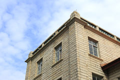 Casa di pietra d'annata Fotografie Stock