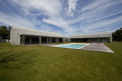Casa di pietra moderna in Istria Immagini Stock Libere da Diritti