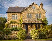Casa di pietra tradizionale Fotografie Stock