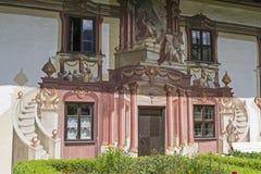 Casa di Pilatus in Oberammergau Fotografia Stock Libera da Diritti