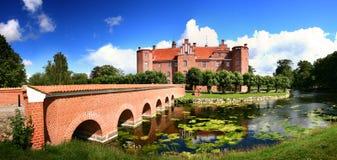 Casa di proprietà terriera del castello Immagine Stock Libera da Diritti
